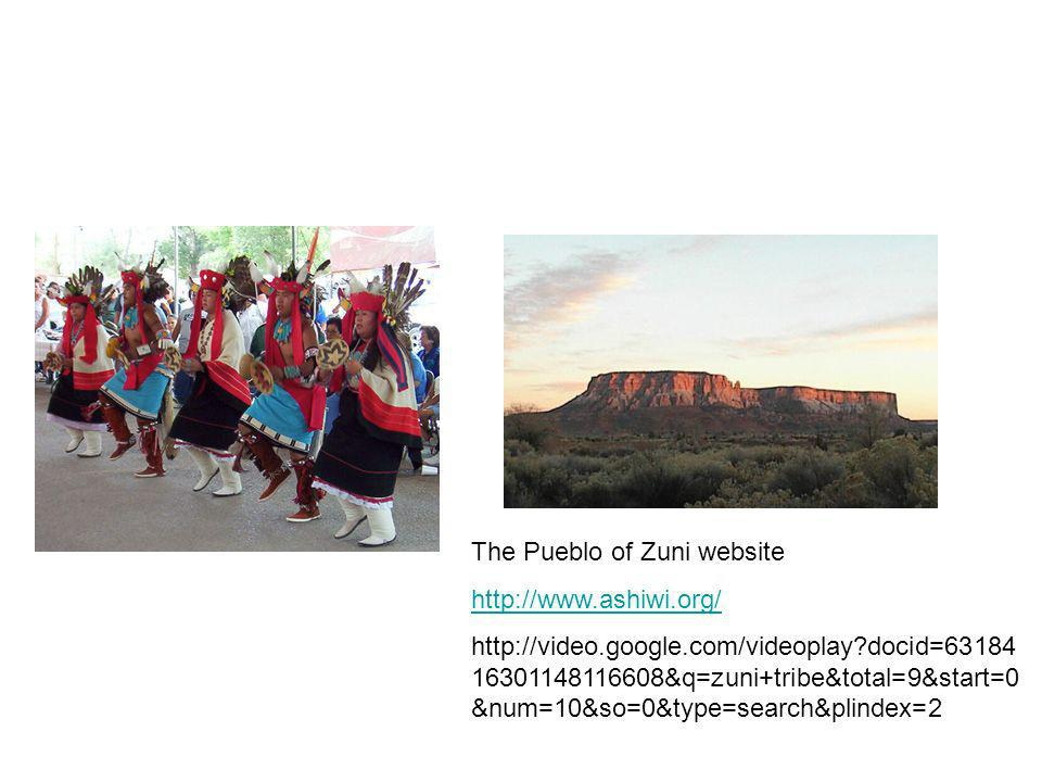 The Pueblo of Zuni website