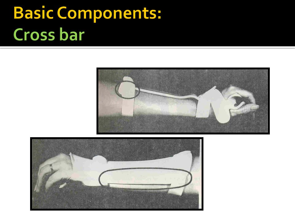 Basic Components: Cross bar
