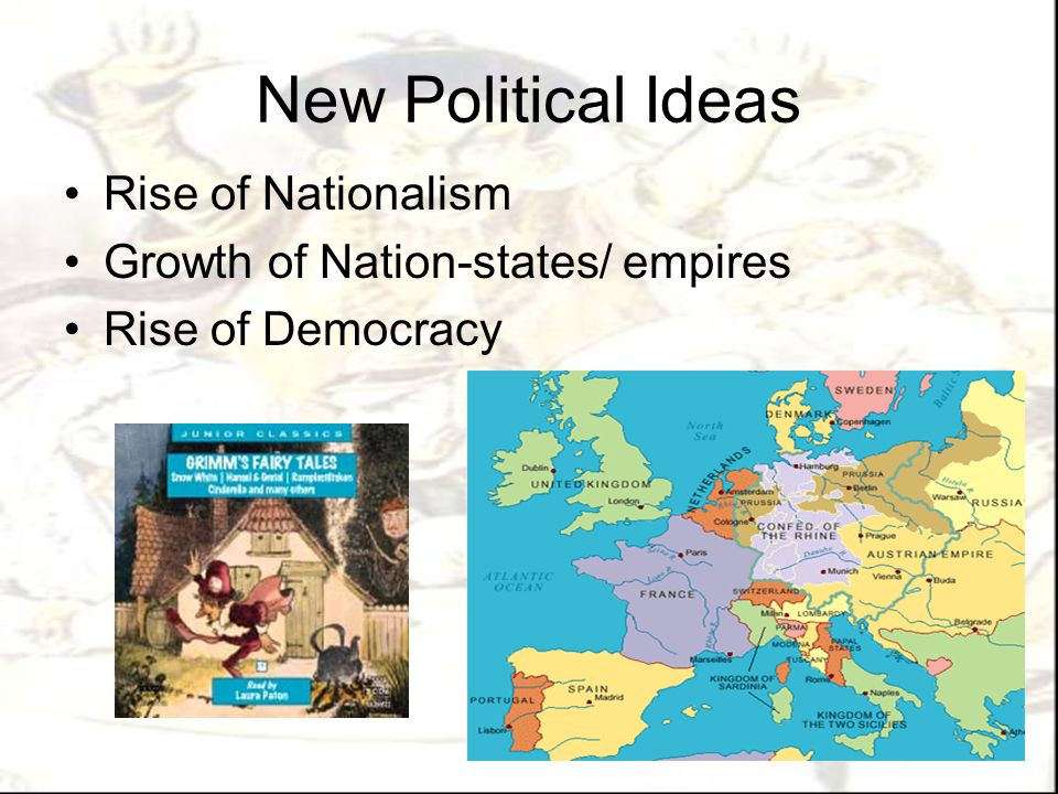 New Political Ideas Rise of Nationalism