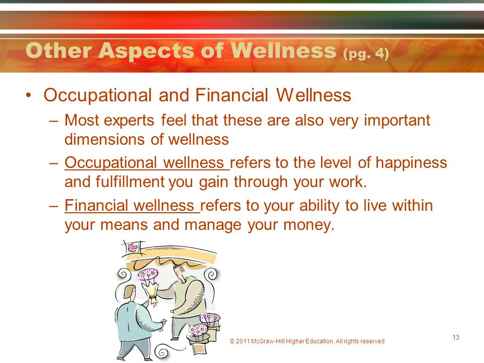 Other Aspects of Wellness (pg. 4)