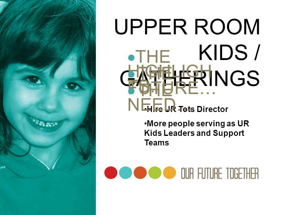 UPPER ROOM KIDS / GATHERINGS