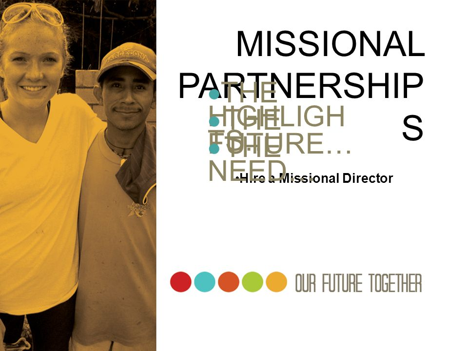 MISSIONAL PARTNERSHIPS