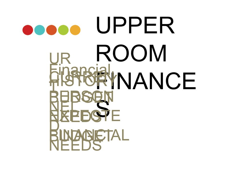 UPPER ROOM FINANCES UR Financial HISTORY CURRENT BUDGET