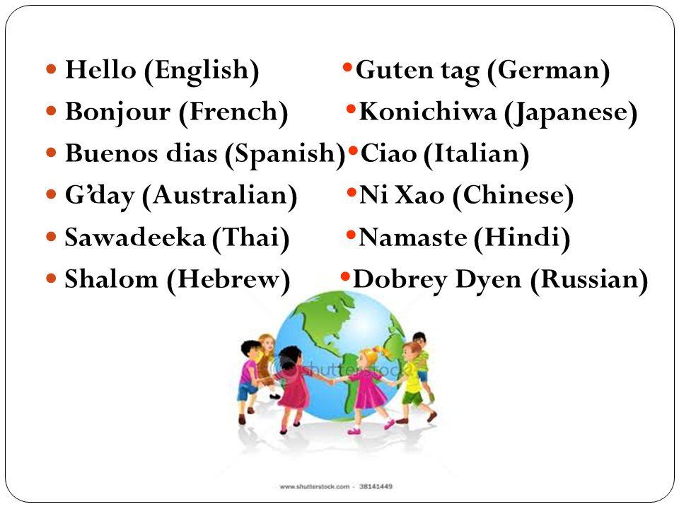 Guten Tag Thailändisch Wie Grüßt Man Auf Thailändisch