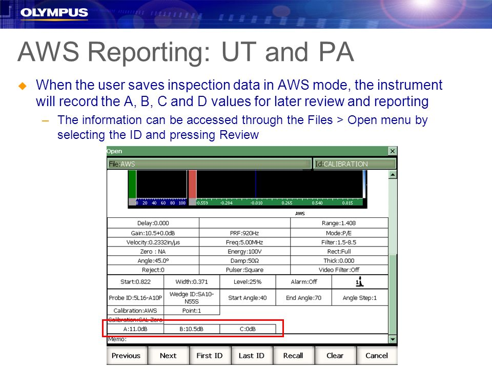 AWS Reporting: UT and PA