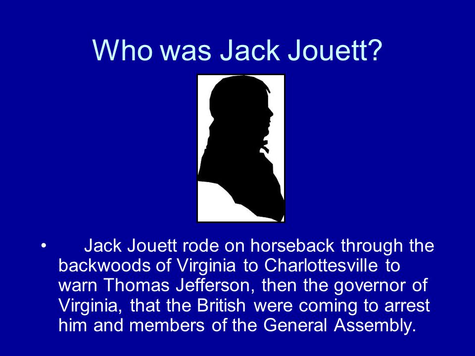 Who was Jack Jouett