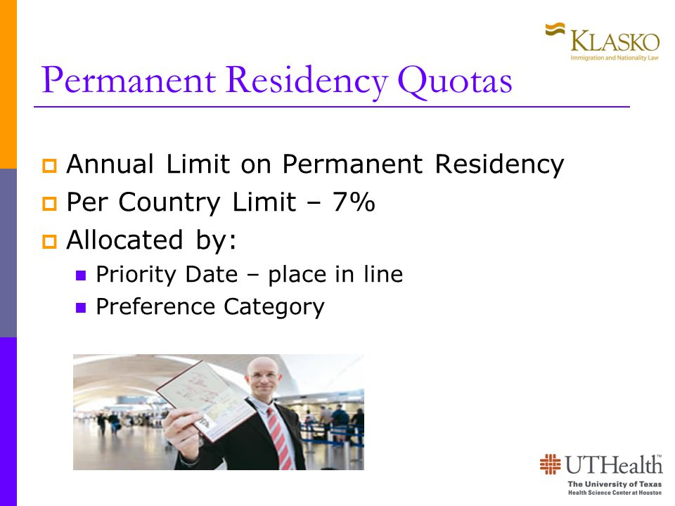 Permanent Residency Quotas