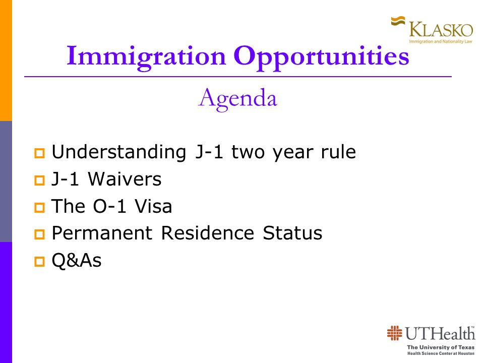 Immigration Opportunities Agenda
