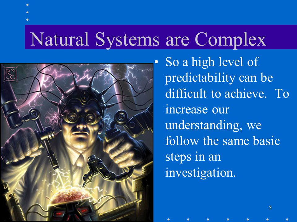 Natural Systems are Complex