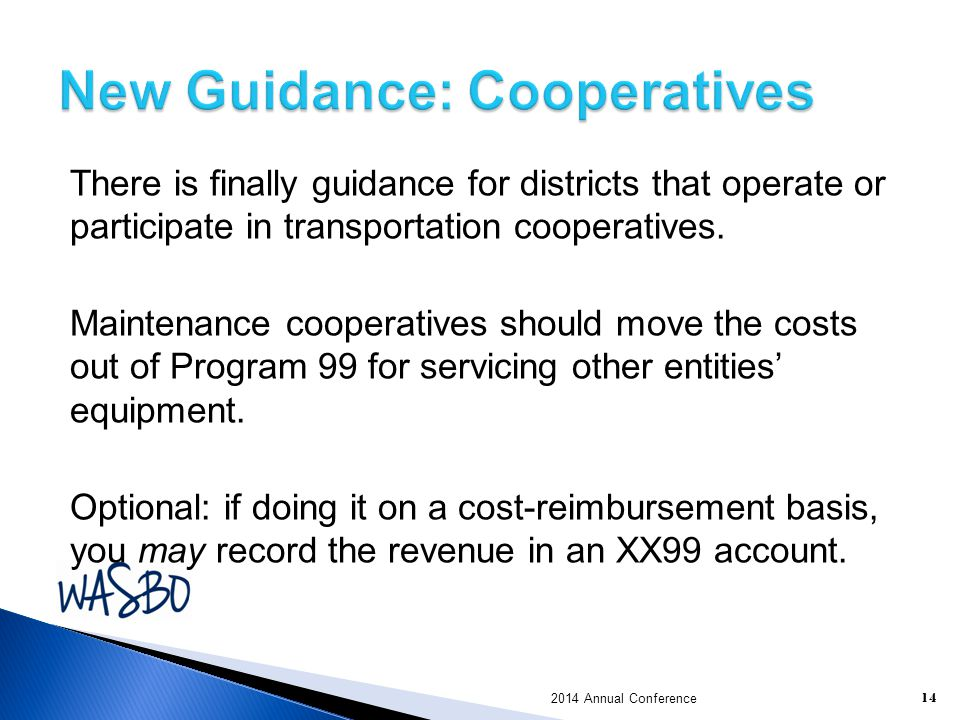 New Guidance: Cooperatives