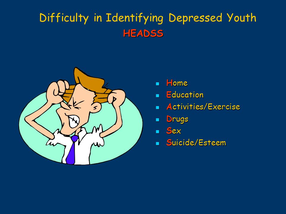 Difficulty in Identifying Depressed Youth