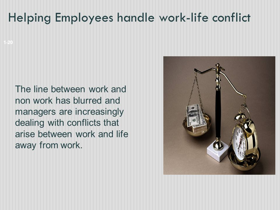 Helping Employees handle work-life conflict