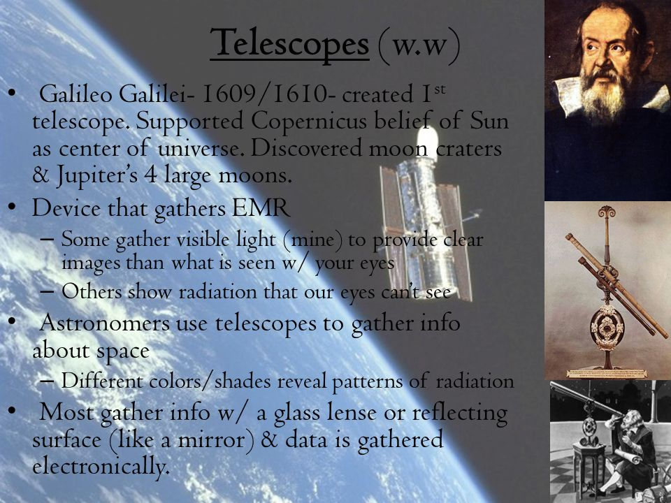 Telescopes (w.w)