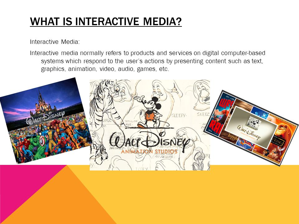 What is Interactive Media