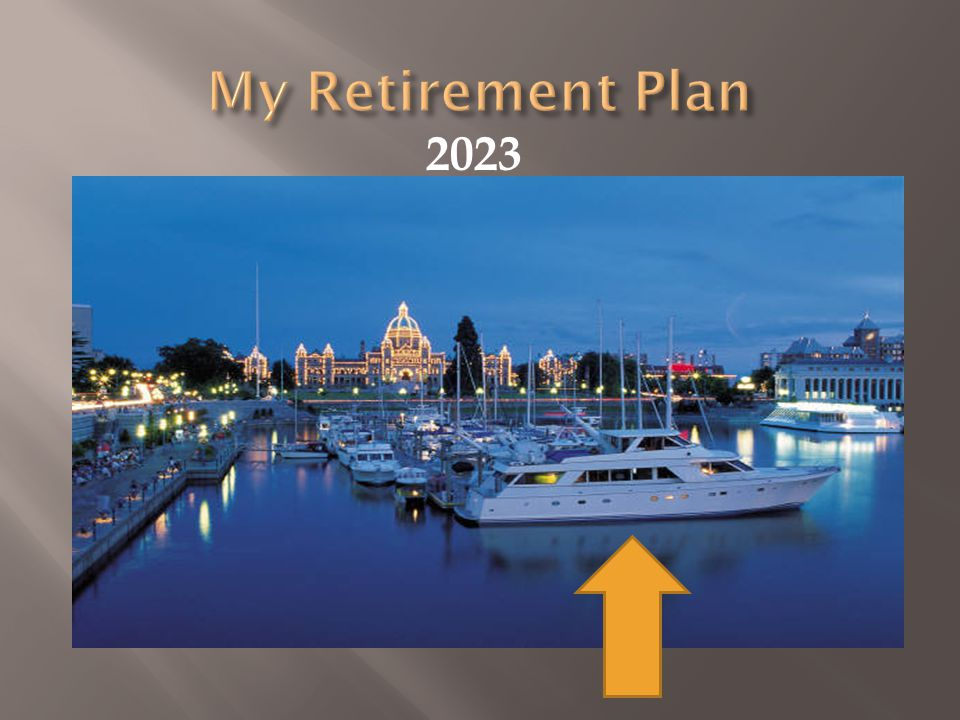 My Retirement Plan 2023