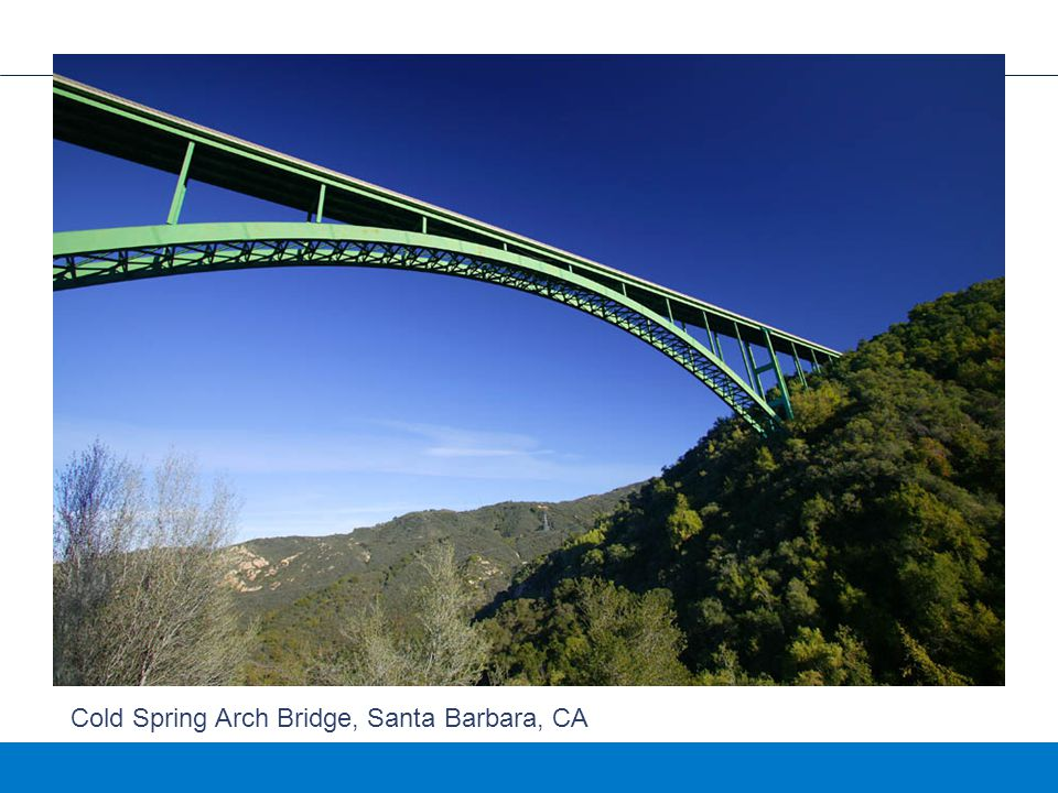 Cold Spring Arch Bridge, Santa Barbara, CA