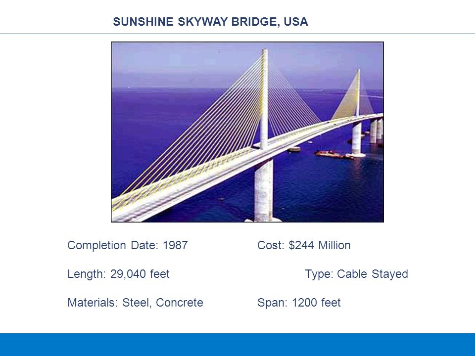 SUNSHINE SKYWAY BRIDGE, USA