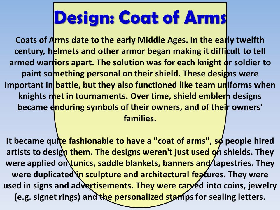 design coat of arms coats of arms date to the early middle ages in