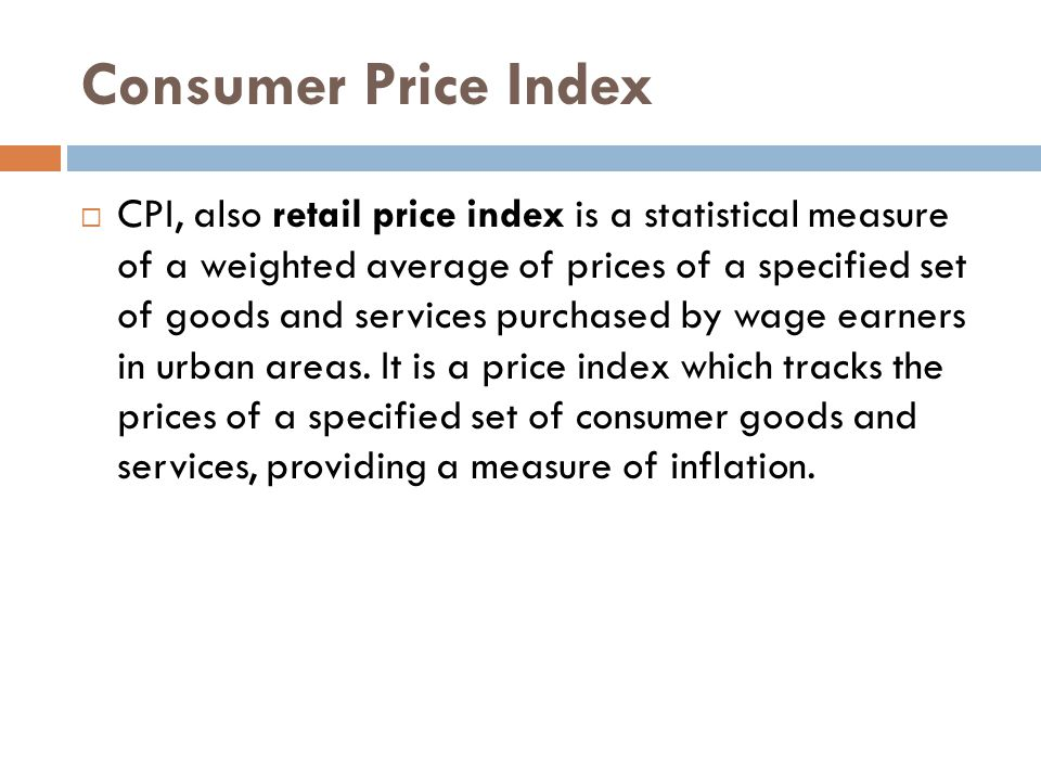 Consumer Price Index