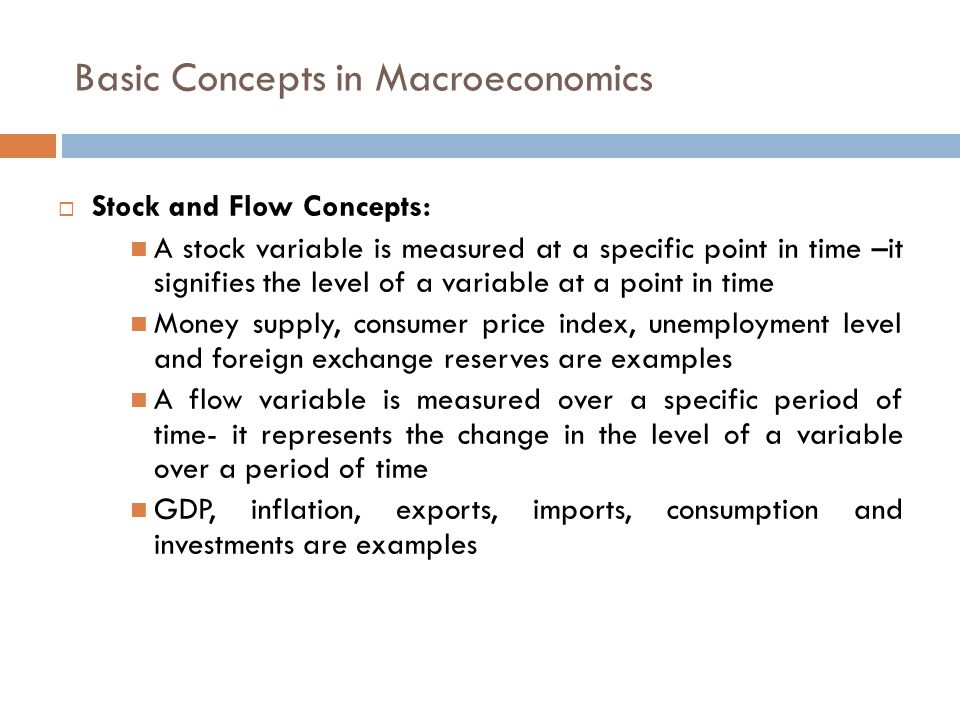 Basic Concepts in Macroeconomics