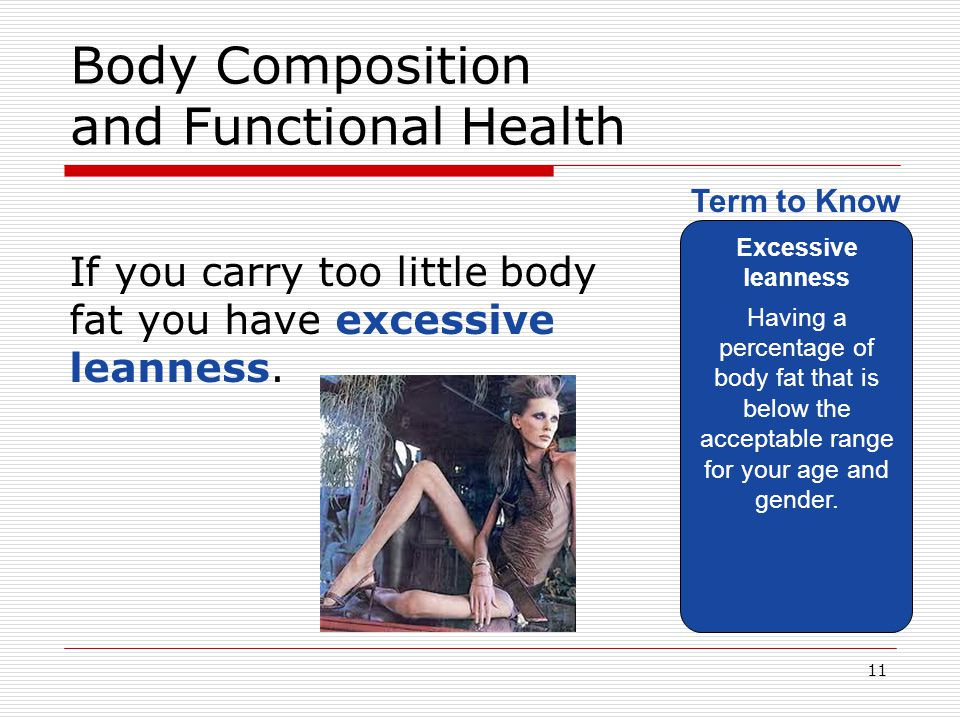 Body Composition and Functional Health