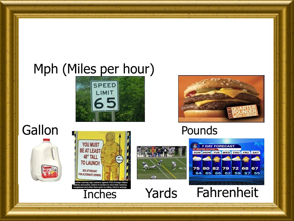 I will show you these 6 pictures showing you their metric values.