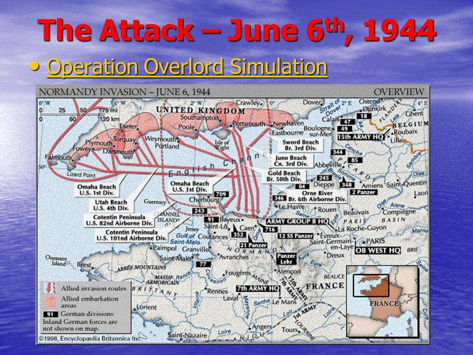 The Attack – June 6th, 1944 Operation Overlord Simulation