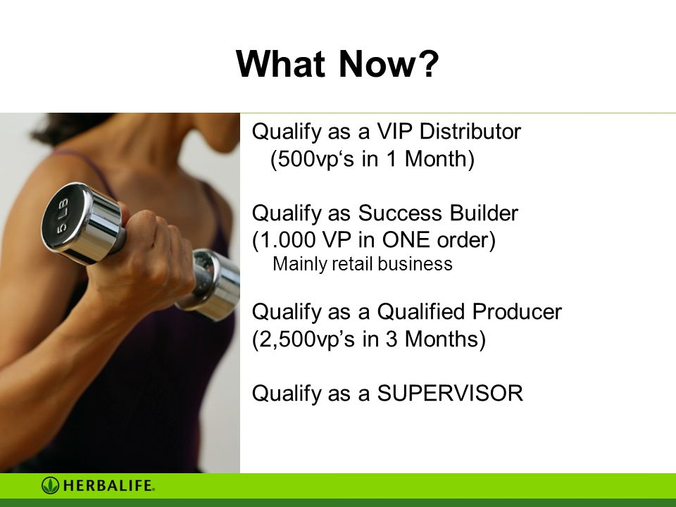 What Now Qualify as a VIP Distributor (500vp's in 1 Month)