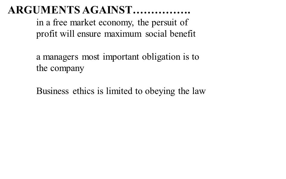 BUSINESS ETHICS & INDIAN ETHOS IN MANAGEMENT - ppt video online download