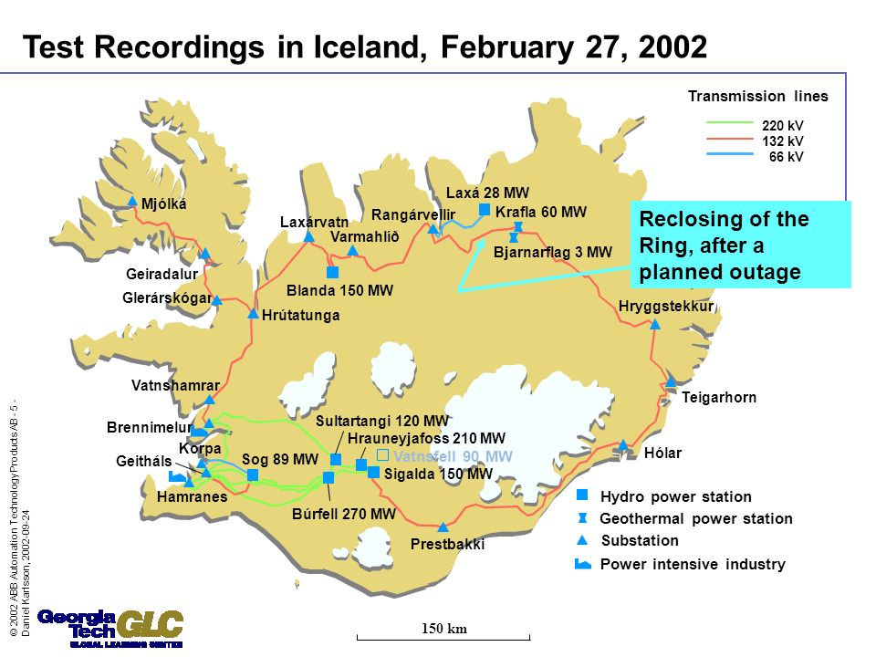 Test Recordings in Iceland, February 27, 2002