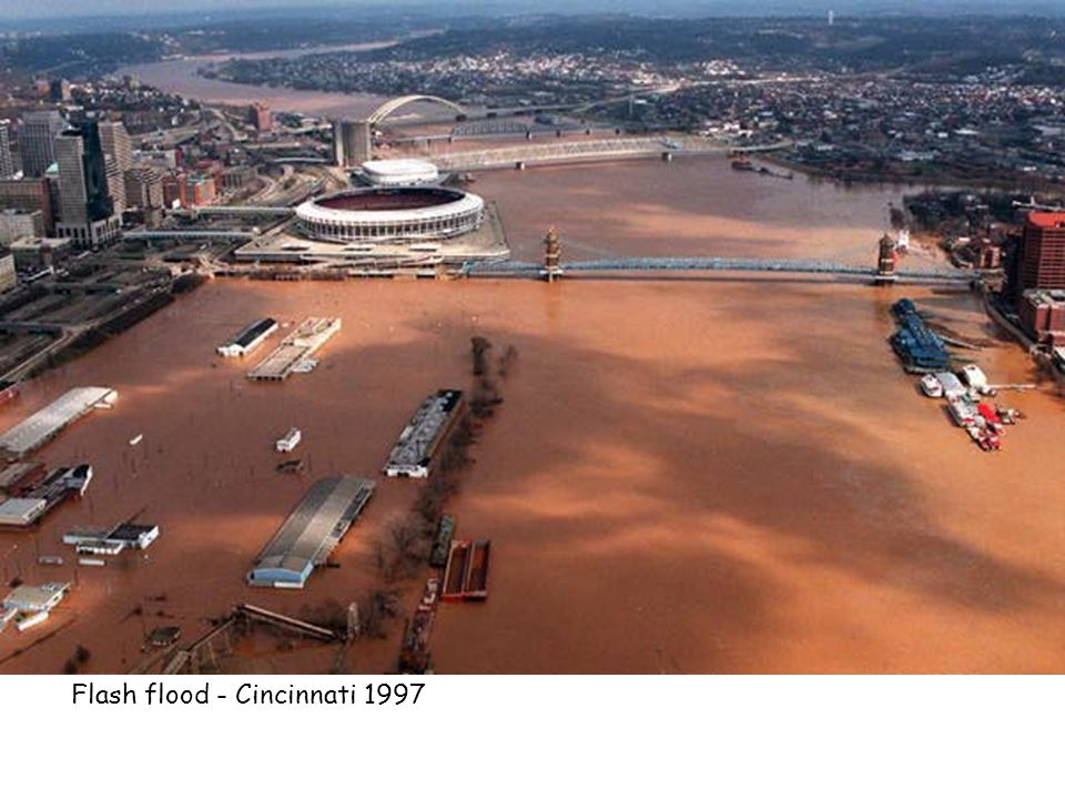 Flash flood - Cincinnati 1997