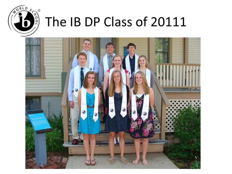 The IB DP Class of 20111
