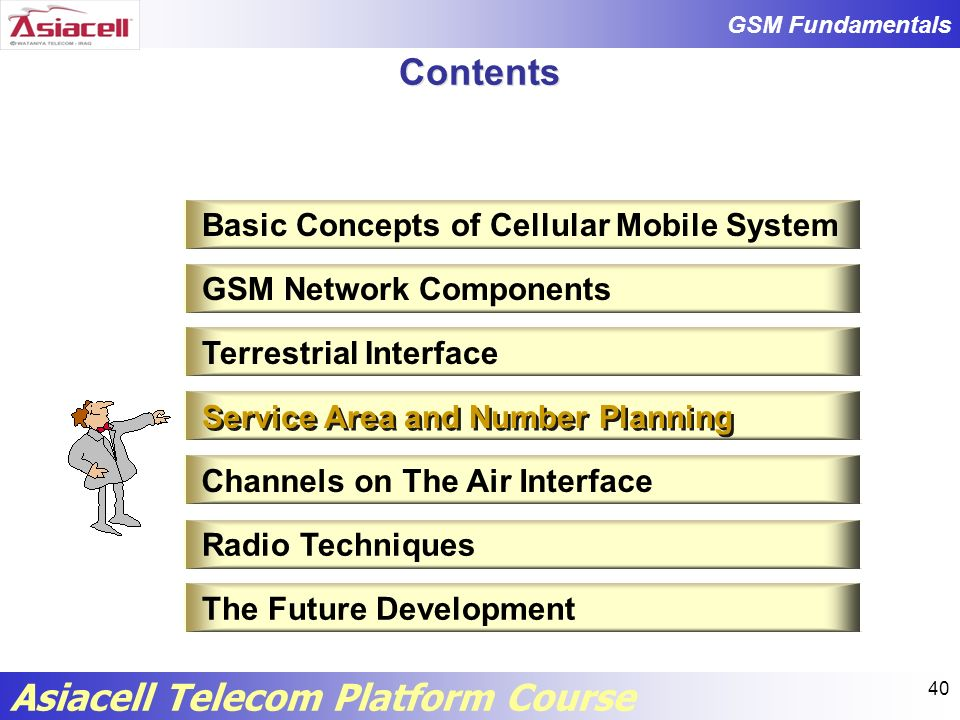 Contents Basic Concepts of Cellular Mobile System