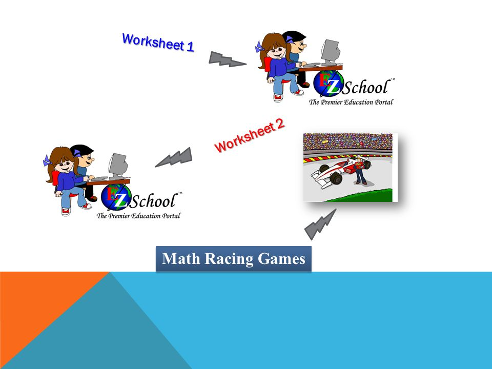 Worksheet 1 Worksheet 2 Math Racing Games