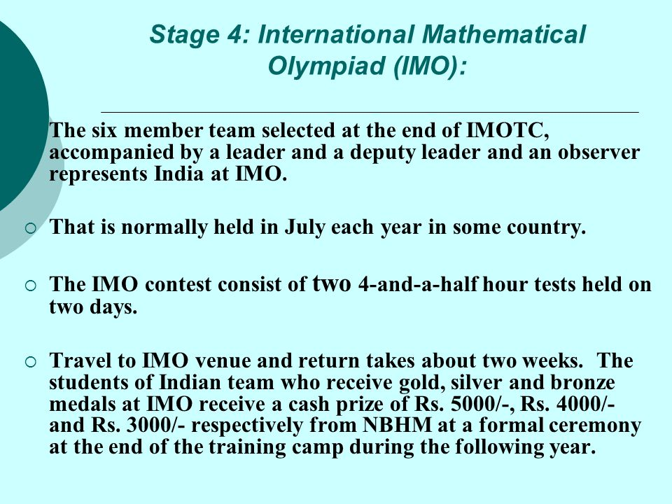 Mathematical Olympiad - ppt video online download