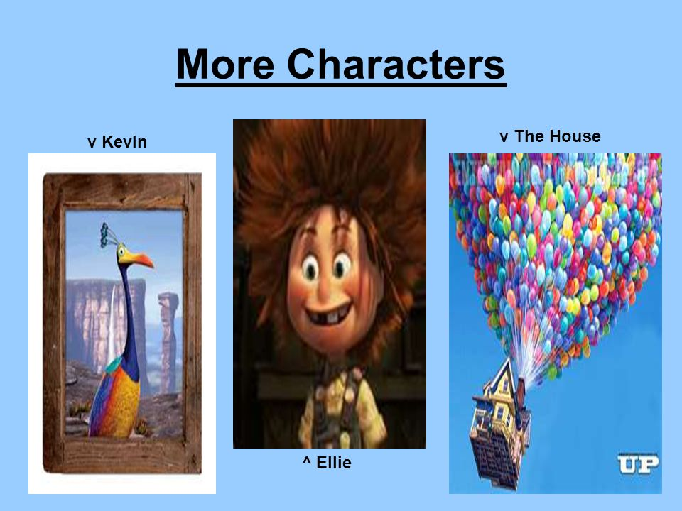 More Characters v The House v Kevin ^ Ellie