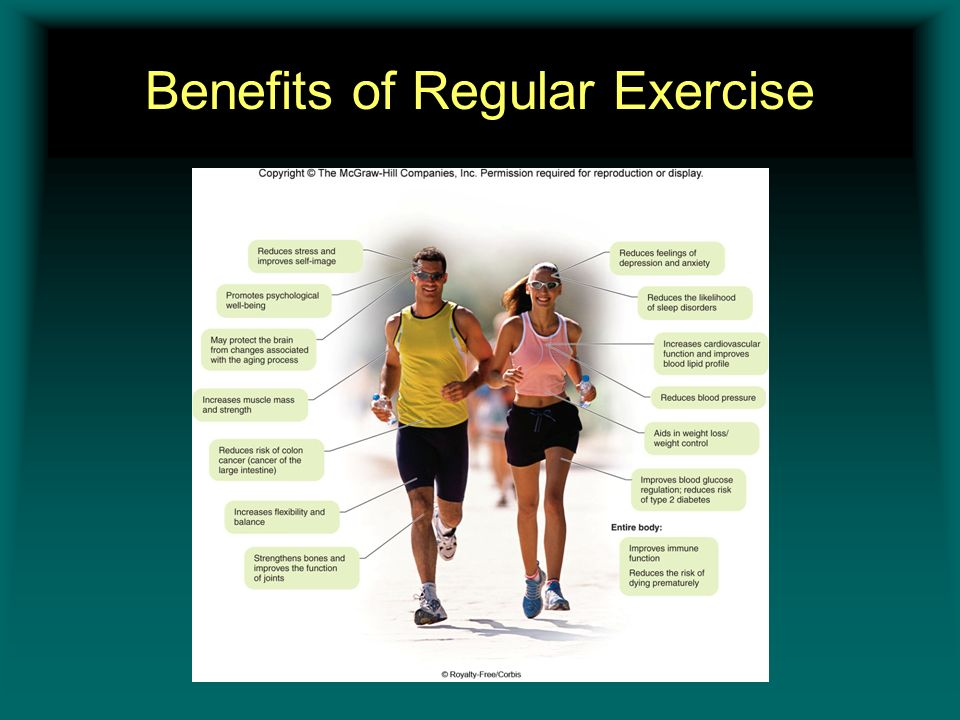 7 Benefits Of Regular Physical Exercise