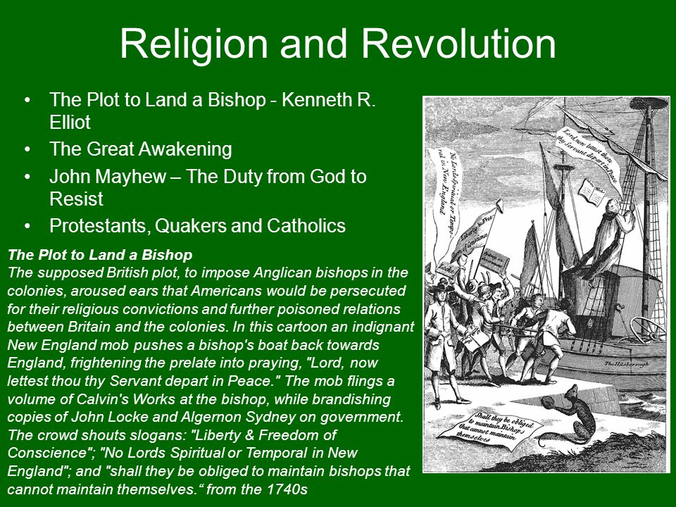Religion and Revolution