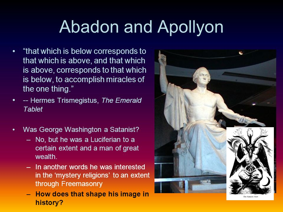 Abadon and Apollyon