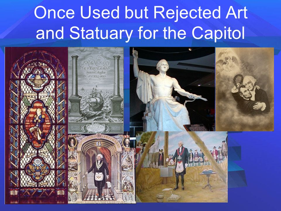 Once Used but Rejected Art and Statuary for the Capitol