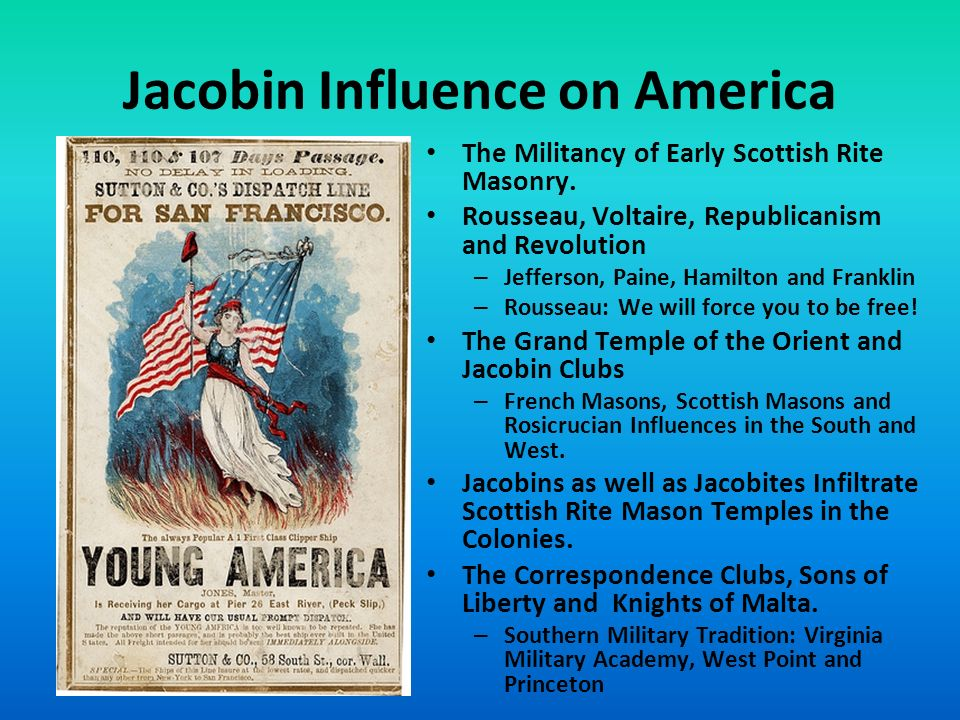 Jacobin Influence on America