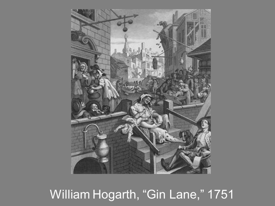 William Hogarth, Gin Lane, 1751