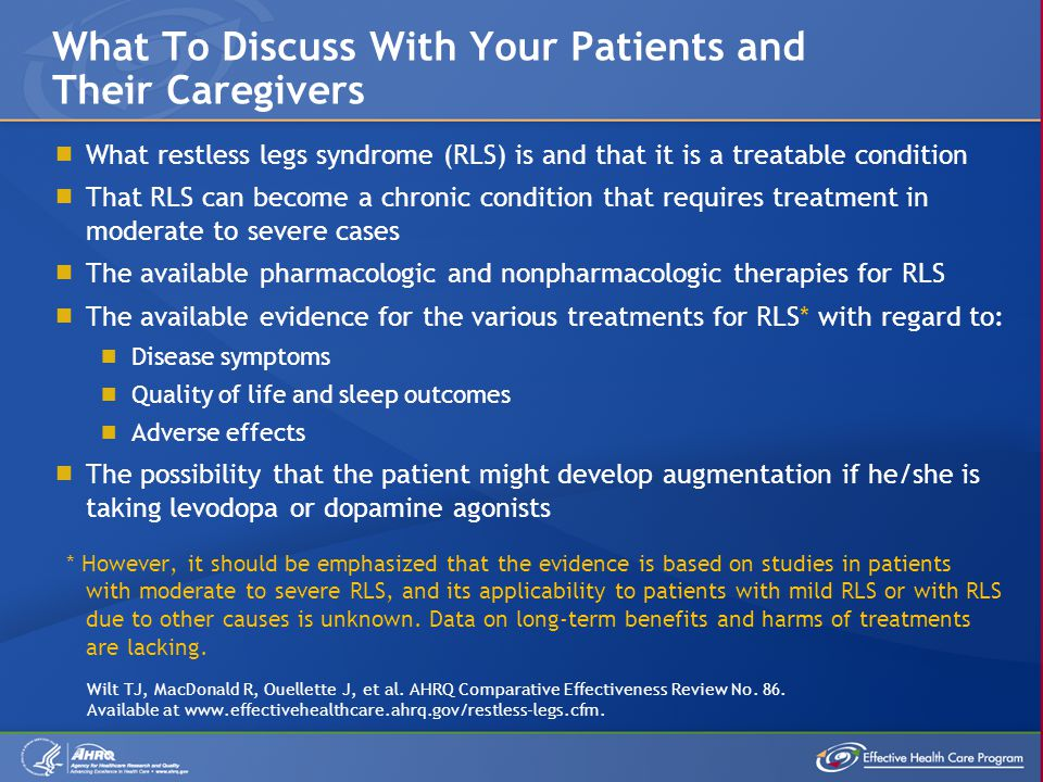 What To Discuss With Your Patients and Their Caregivers