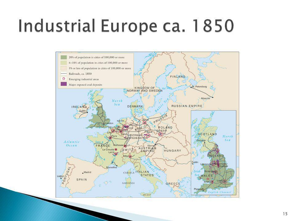 Industrial Europe ca. 1850