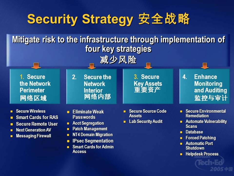 Security Strategy 安全战略