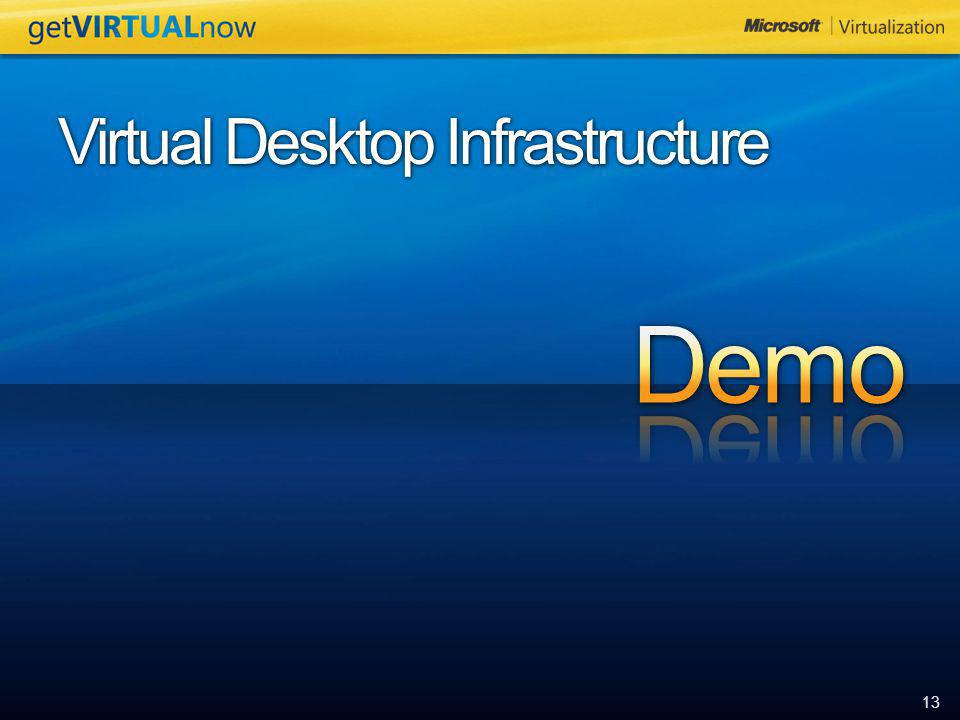 4/6/2017 Virtual Desktop Infrastructure Demo