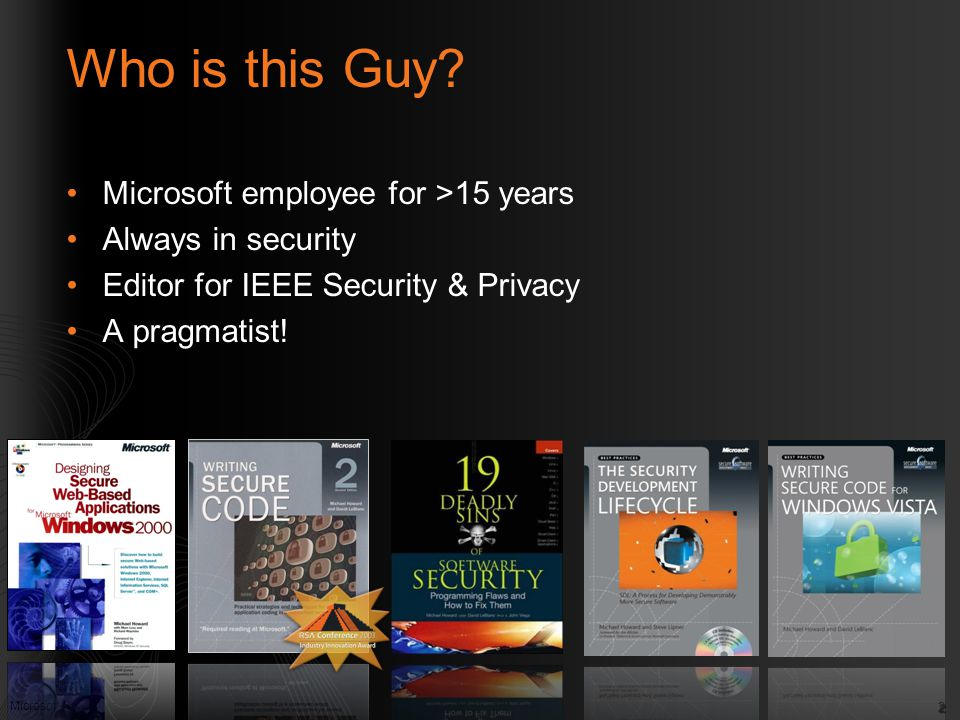 Who is this Guy Microsoft employee for >15 years