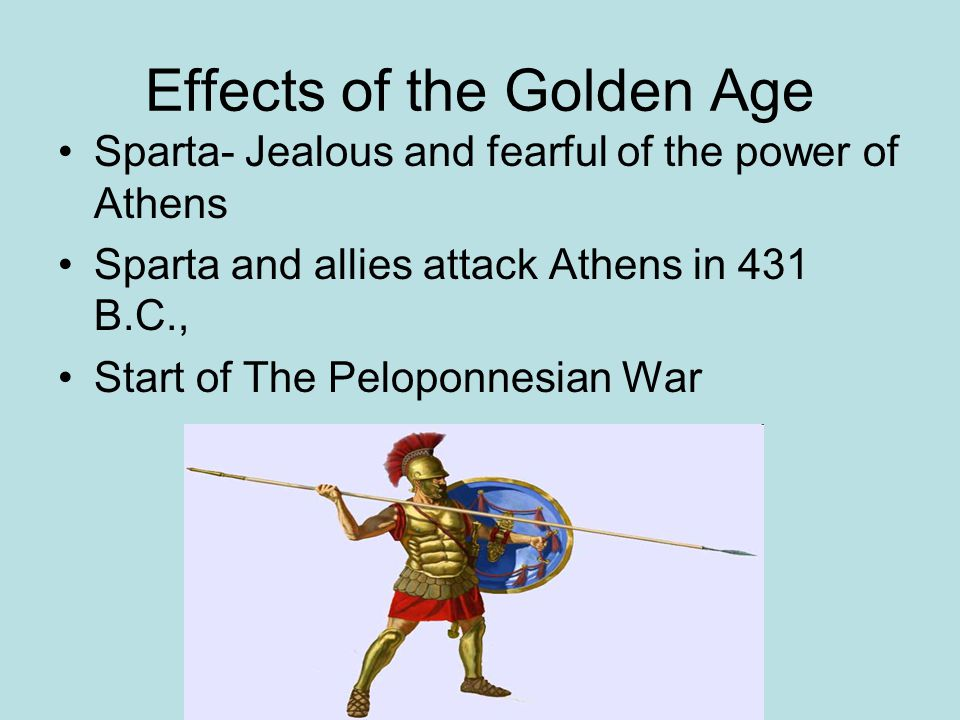 Effects of the Golden Age