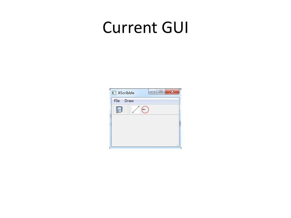 Current GUI
