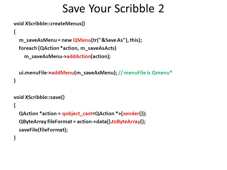 Save Your Scribble 2
